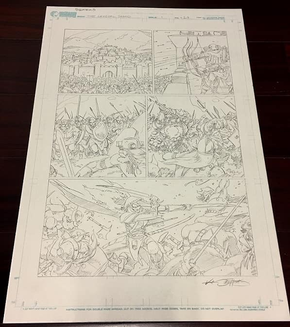 Forgotten Realms Original Art