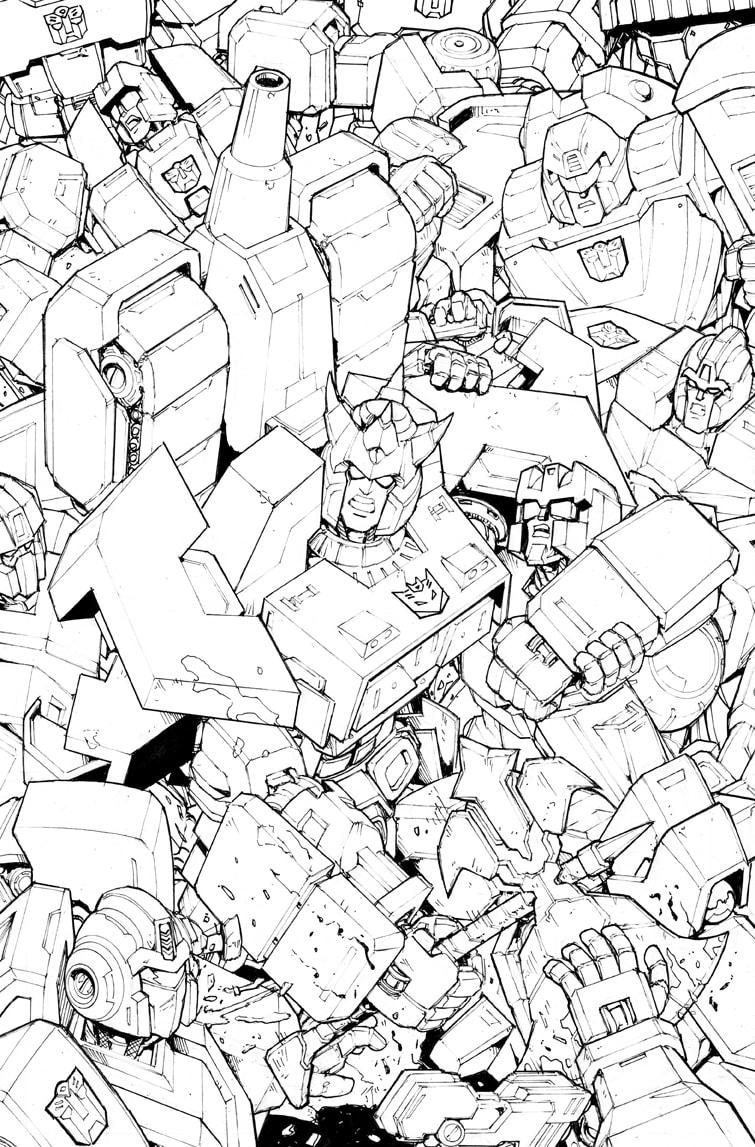 Original Transformers Art GALVATRON