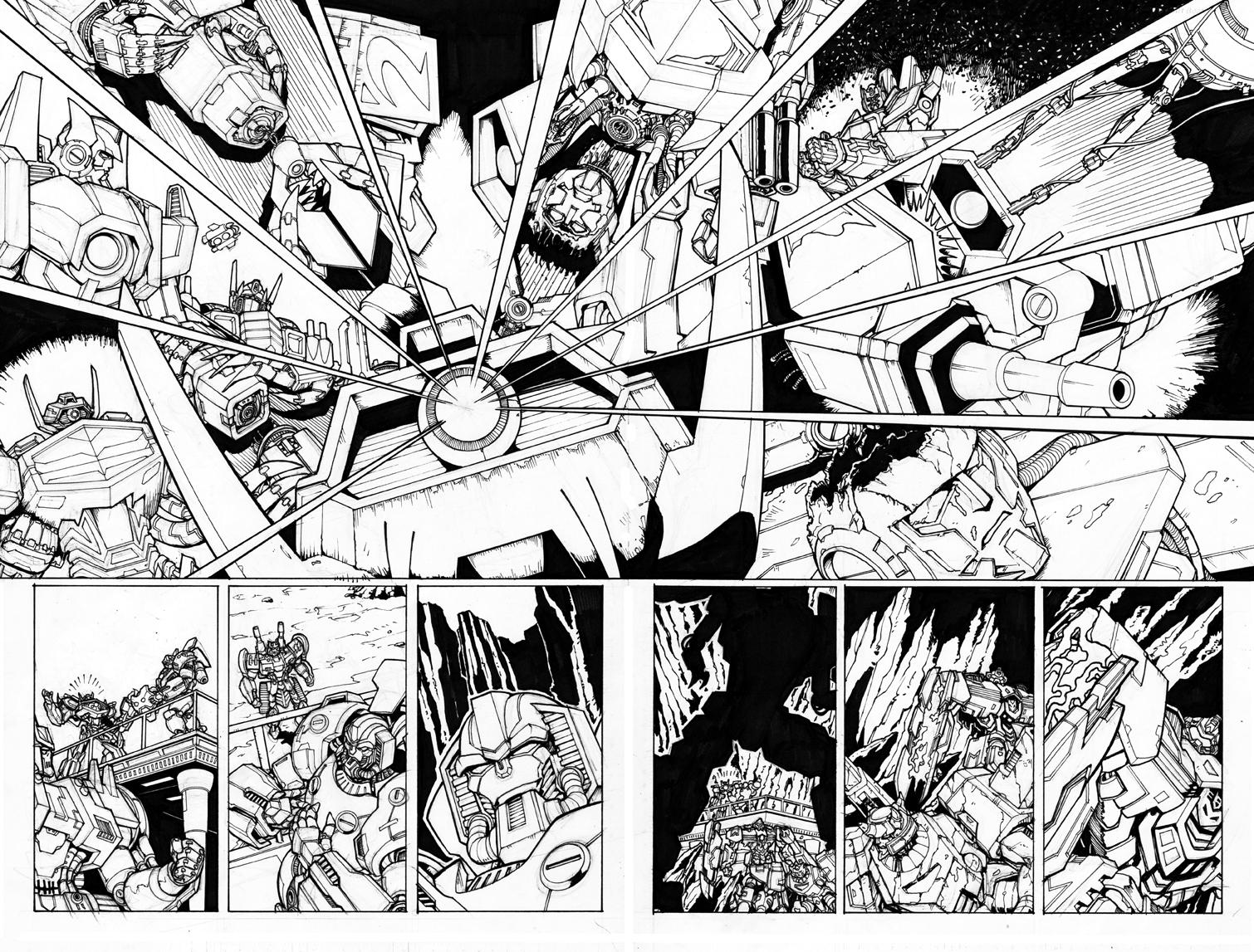 Original Transformers Art Shockwave