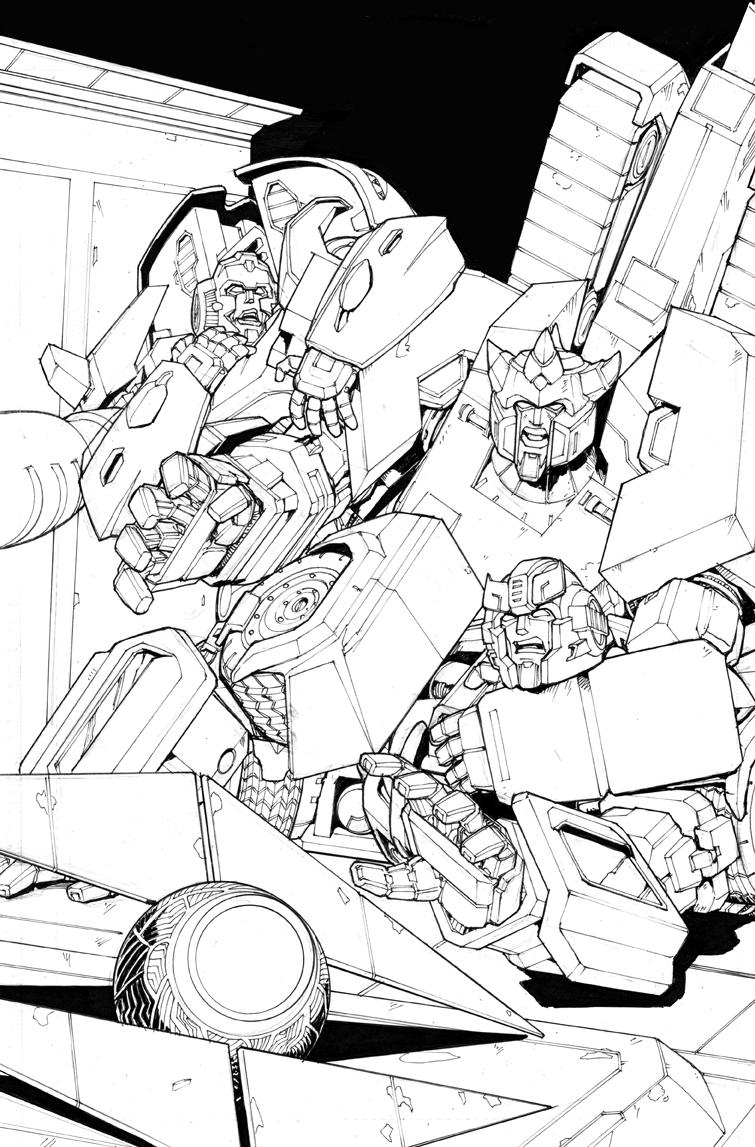 Original Transformers Cover Art