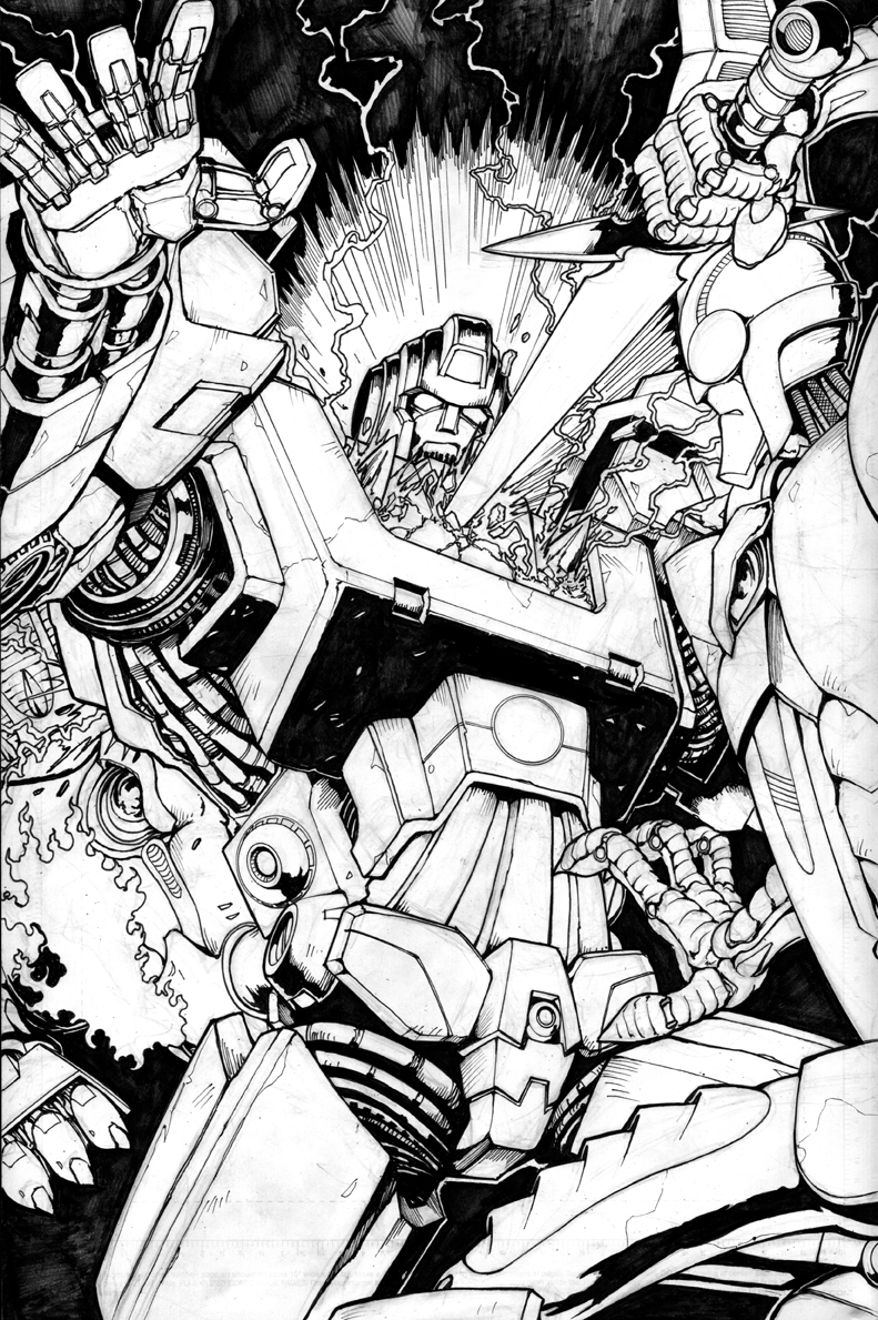 Ironhide Original Art