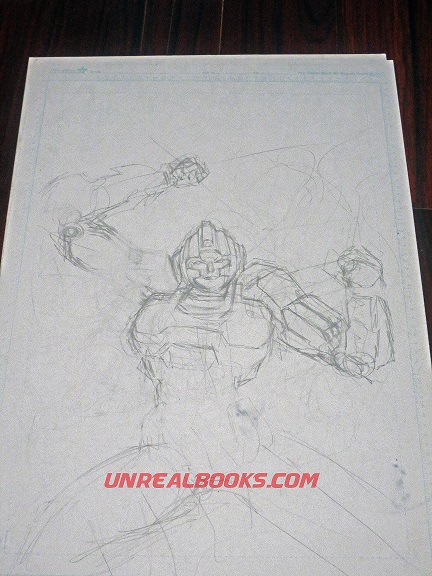 Transformers original art Arcee