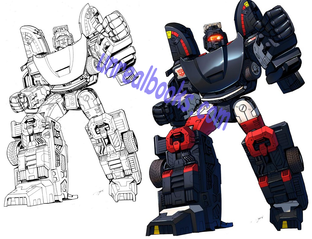 Transformers original art Alternators