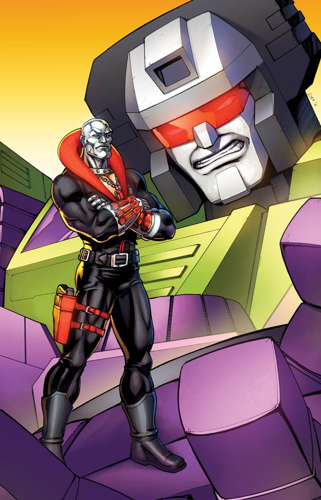 Transformers Devastator Destro .