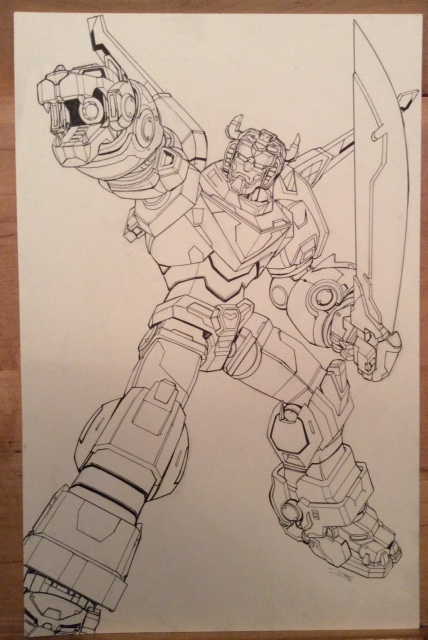 Voltron Original Art