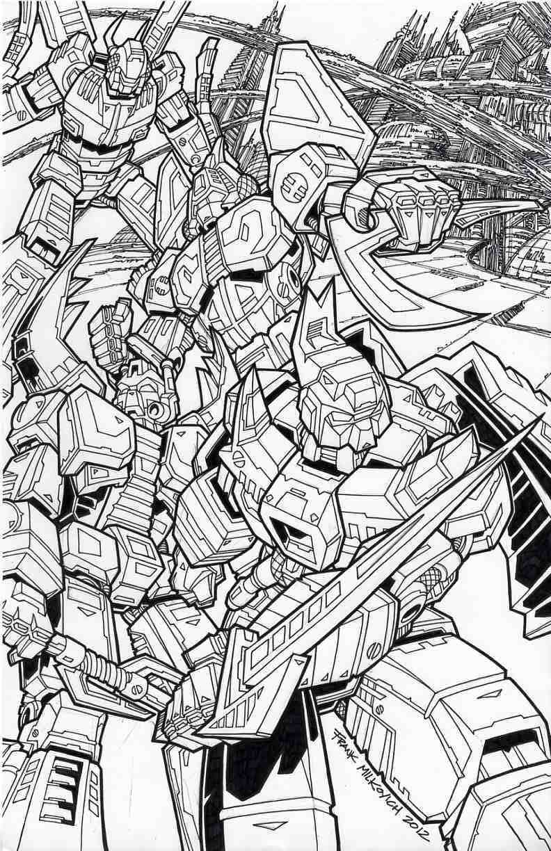 Transformers original art Insecticons