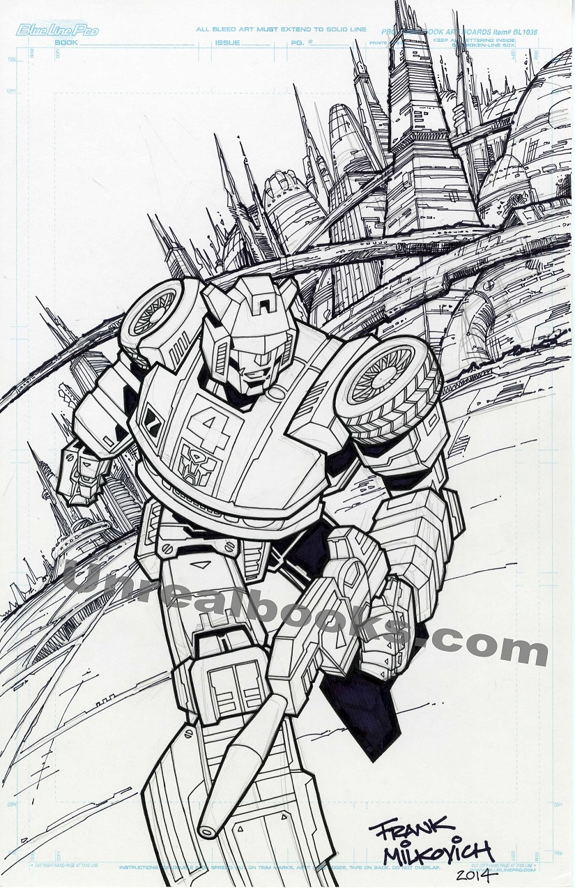 Transformers commissions