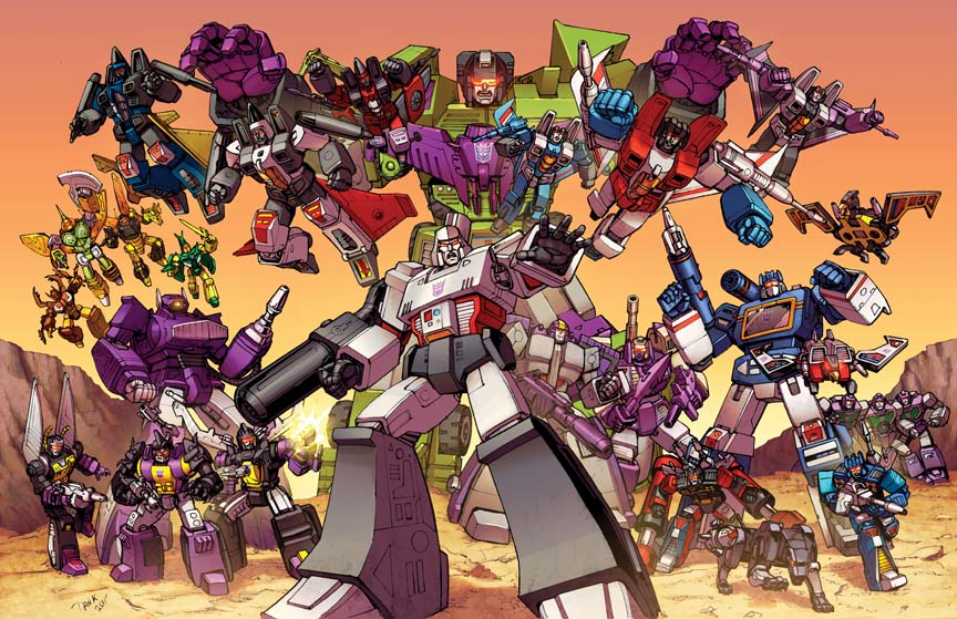 Decepticons Group Shot