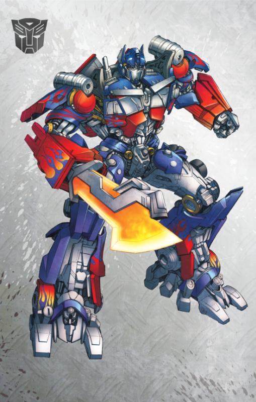 Dark Side of the Moon Optimus Prime