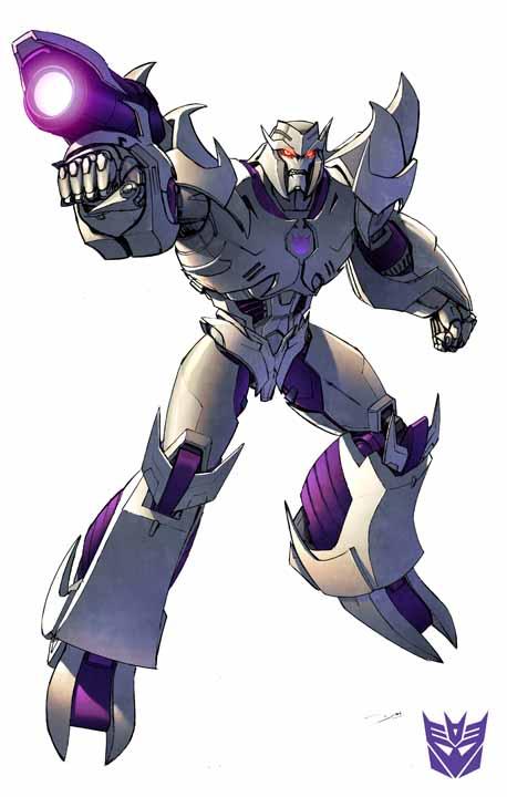 Transformers Prime Megatron .
