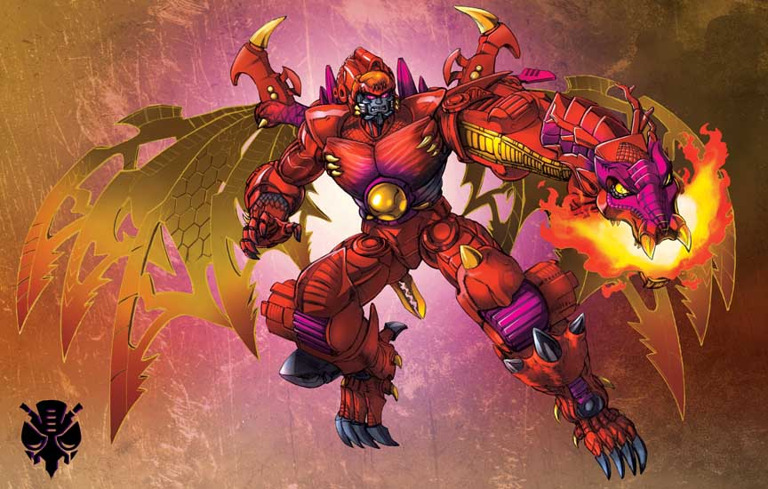Transmetal Megatron Dragon