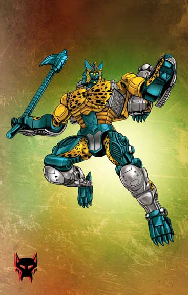 Transformers  Transmetal Cheetor