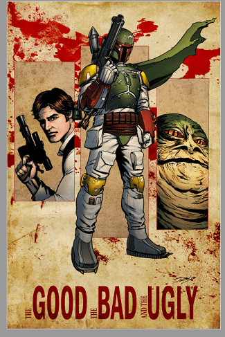 Star Wars boba fett.