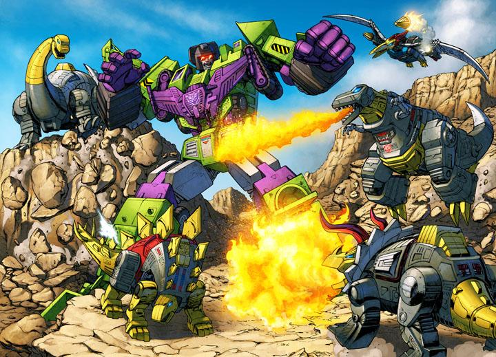 Dinobots VS Devastator
