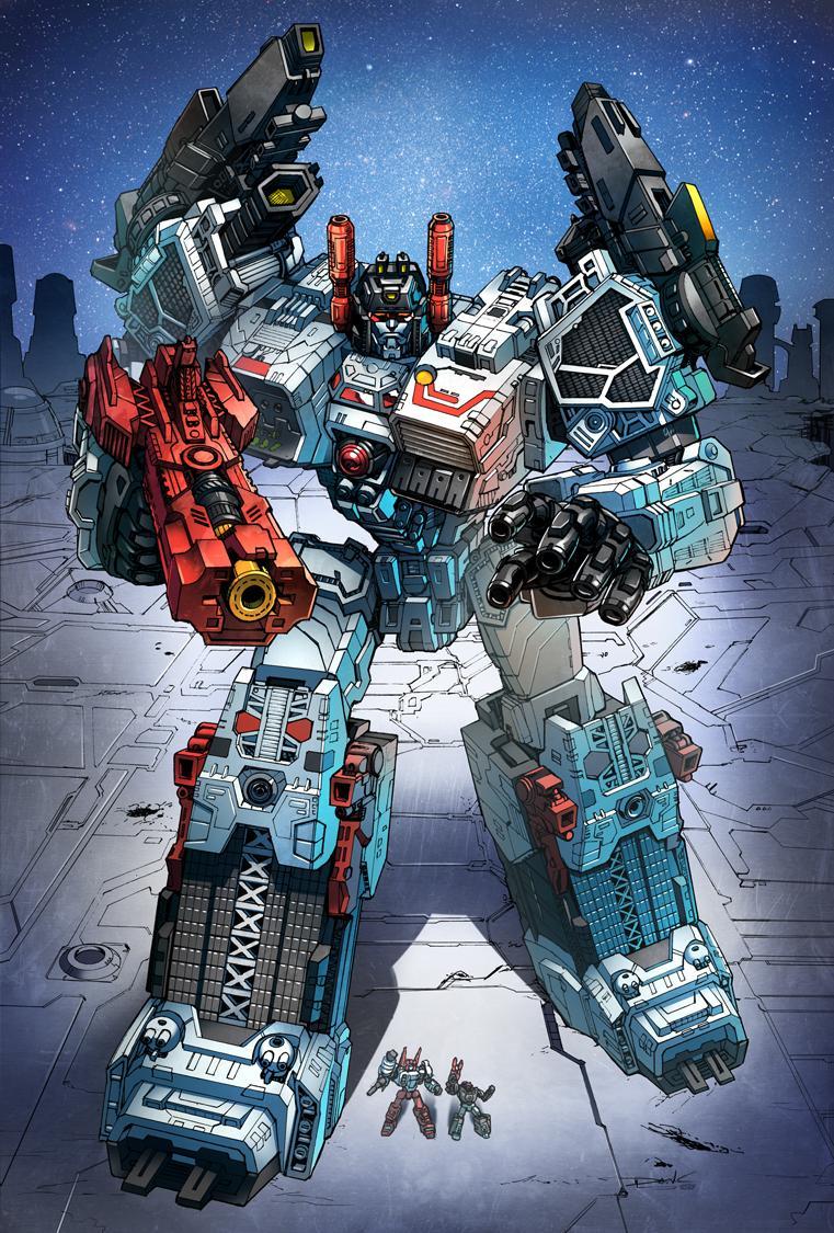 Autobots metroplex