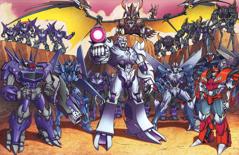 Transformers PRIME Decepticons