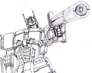 Original Art Transformers: Punishment