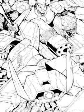 Transformers Cover Art