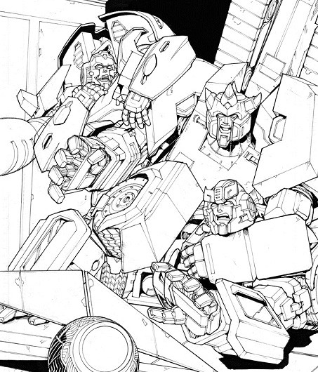 Robots in Disguise #38 Cover