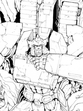 Original Galvatron Art