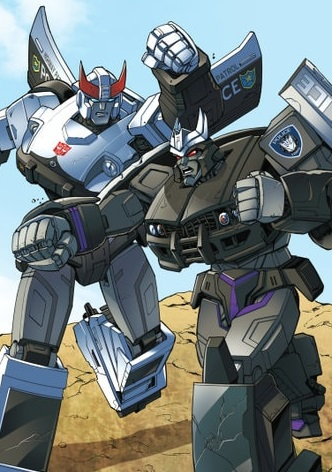 Prowl Vs Barricade Print Unreal Books