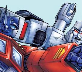 Prime VS Megatron