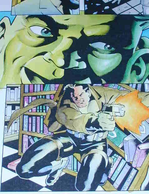 Hulk and Punisher