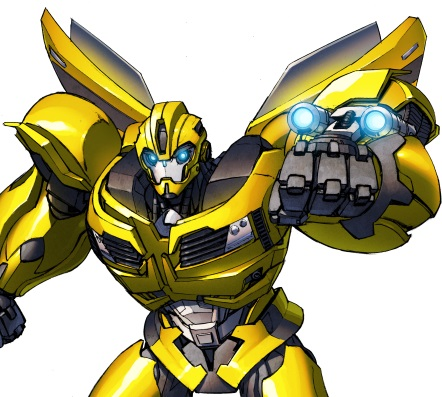 transformers prime bumblebee print unreal books