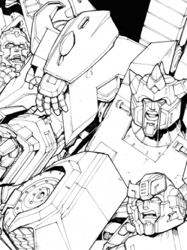 Transformers Cover Art 38